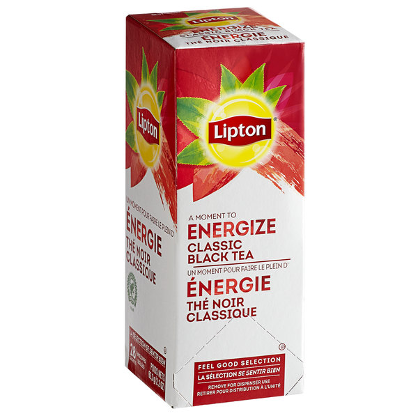 Lipton Classic Black Tea Bags - 28/Box