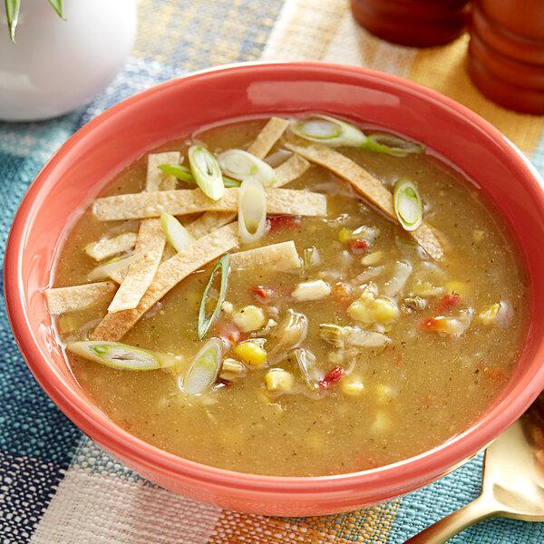 Knorr 14.4 oz. Soup du Jour Chicken Tortilla Soup Mix - 4/Case Main Image 2