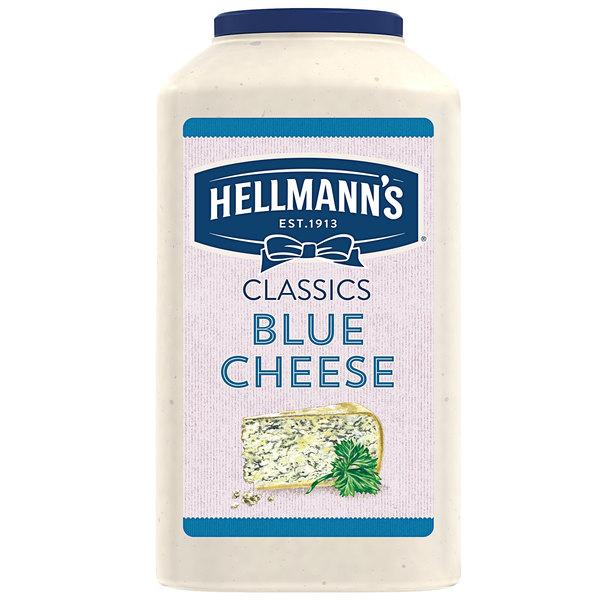 Hellmann's 1 Gallon Chunky Blue Cheese Dressing - 4/Case