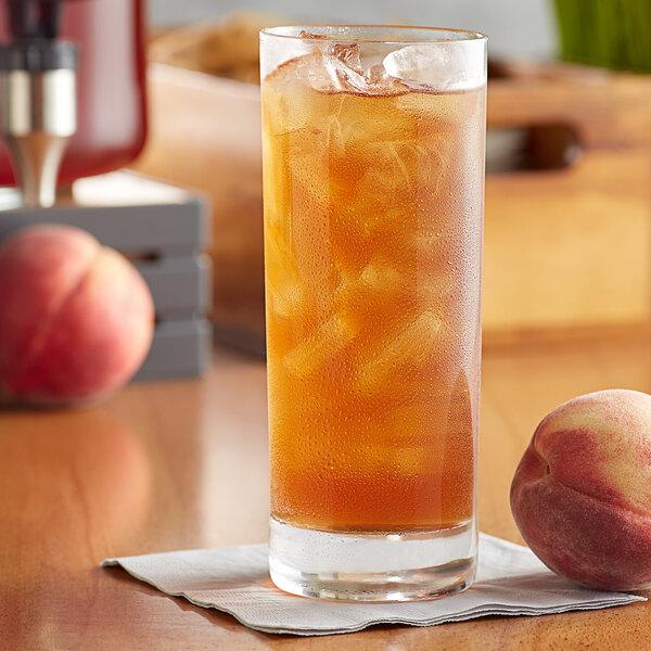 Pure Leaf 3 Gallon Black Tea with Peach Loose Leaf Iced Tea Packet - 24/Case Main Image 3