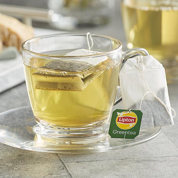 Lipton Classic Green Tea Bags - 100/Box Main Image 2
