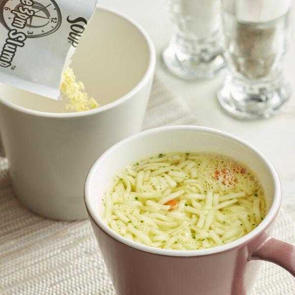 Lipton Cup-a-Soup Instant Chicken Noodle Soup Mix - 22/Case Main Image 2