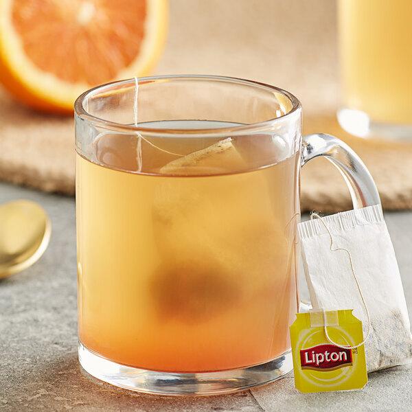 Lipton Orange Herbal Tea Bags - 28/Box Main Image 3