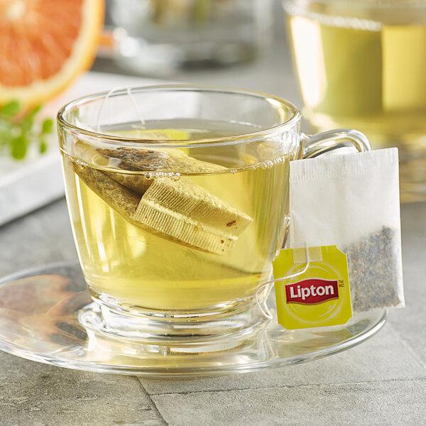 Lipton Green Tea with Orange, Passion Fruit, and Jasmine Tea Bags - 28/Box Main Image 2