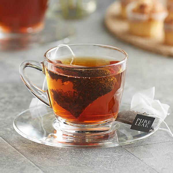 Pure Leaf English Breakfast Pyramid Tea Sachets - 25/Box Main Image 3