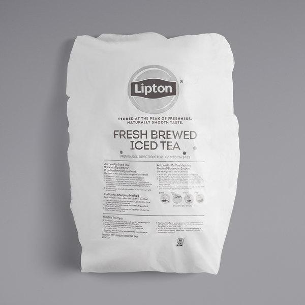 Lipton 1 Gallon Black Iced Tea Filter Bags  - 96/Case