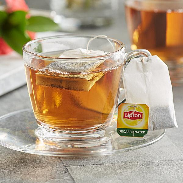 Lipton Decaffeinated Black Tea Bags - 72/Box Main Image 3