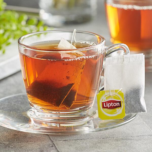 Lipton English Breakfast Tea Bags - 28/Box Main Image 2