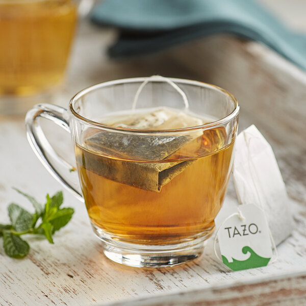 Tazo Refresh Mint Herbal Tea Bags - 24/Box Main Image 3