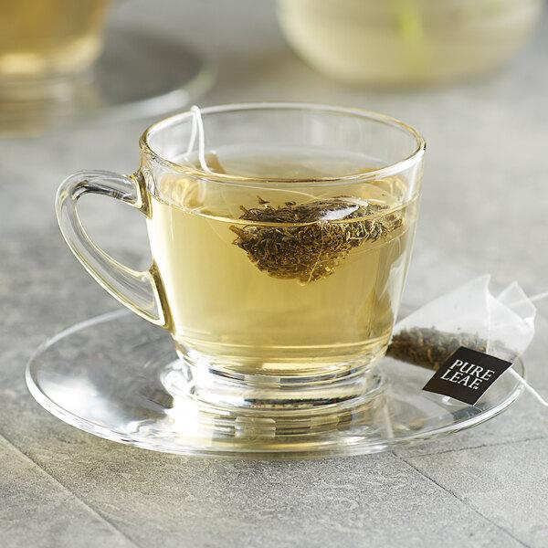 Pure Leaf Green Tea with Jasmine Pyramid Tea Sachets - 25/Box Main Image 3