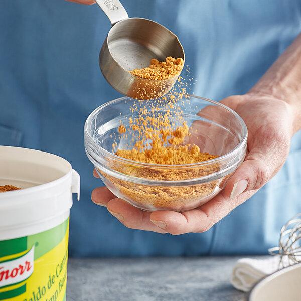 Knorr 4.4 lb. Caldo de Camaron / Shrimp Bouillon Base - 4/Case Main Image 2