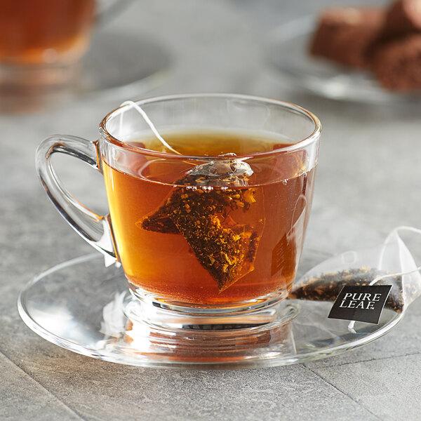 Pure Leaf Organic Chai Pyramid Tea Sachets - 25/Box Main Image 3