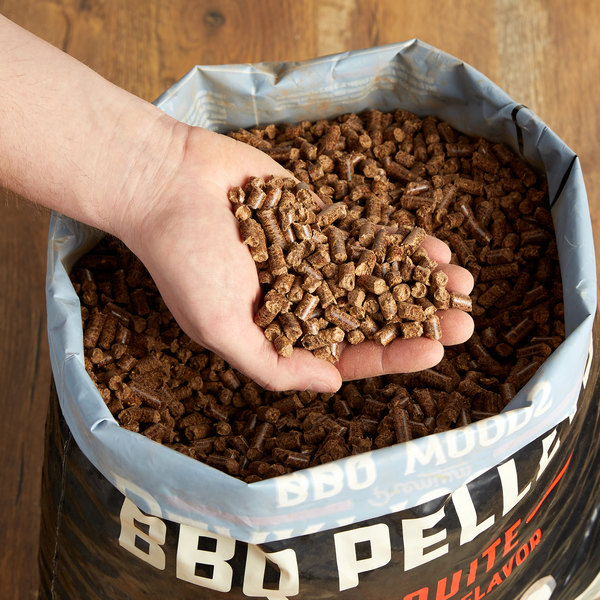 Bear Mountain 100% Natural Hardwood Mesquite BBQ Pellets - 20 lb. Main Image 2