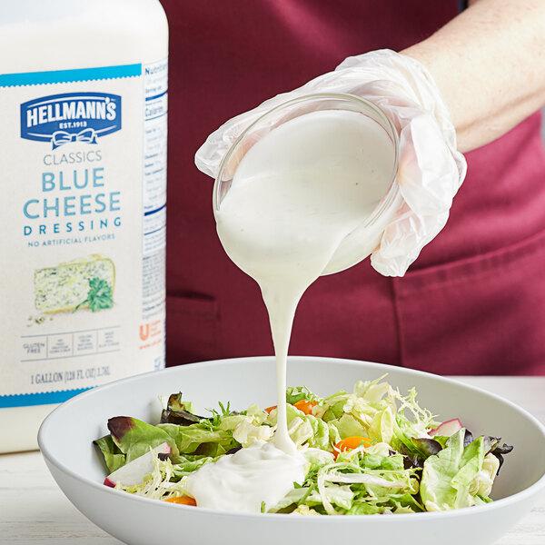 Hellmann's 1 Gallon Chunky Blue Cheese Dressing Main Image 2
