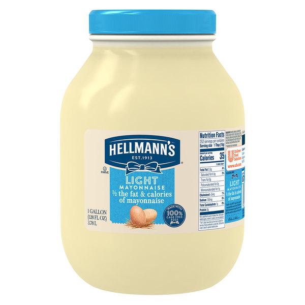 Hellmann's 1 Gallon Light Mayonnaise