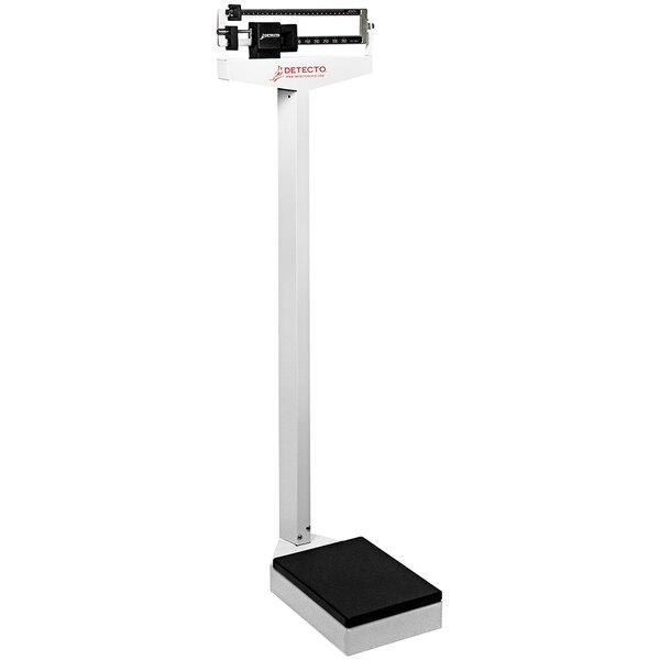 Cardinal Detecto 337 400 lb. / 175 kg Eye-Level Mechanical Beam Physicians Scale Main Image 1