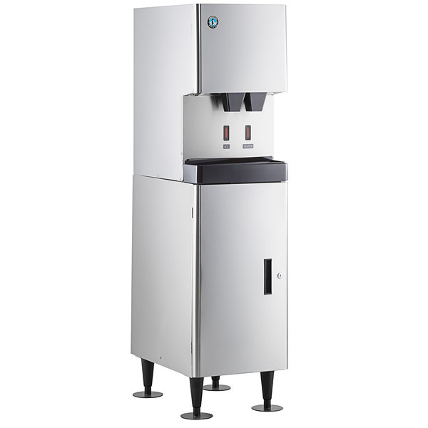 Hoshizaki Dcm 270bah Os Opti Serve Hands Free Cubelet Ice Maker And Water Dispenser With Floor Stand 282 Lb Per Day 10 Lb Storage
