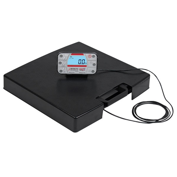 Cardinal Detecto APEX-RI 600 lb. Portable Digital Clinical Scale with Remote Indicator Main Image 1