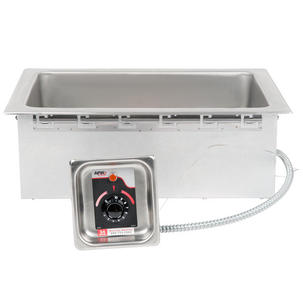 APW Wyott HFW-1 Insulated One Pan Drop In Hot Food Well - 120V Main Image 1