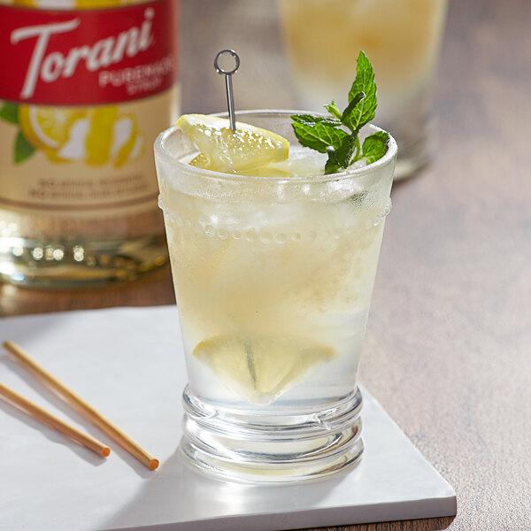 Torani 750 mL Puremade Lemon Flavoring Syrup Main Image 2