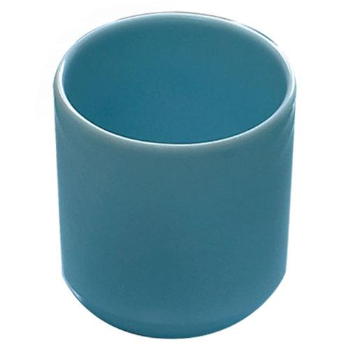 Thunder Group 9952 Blue Jade 9 oz. Melamine Mug - 12/Case Main Image 1