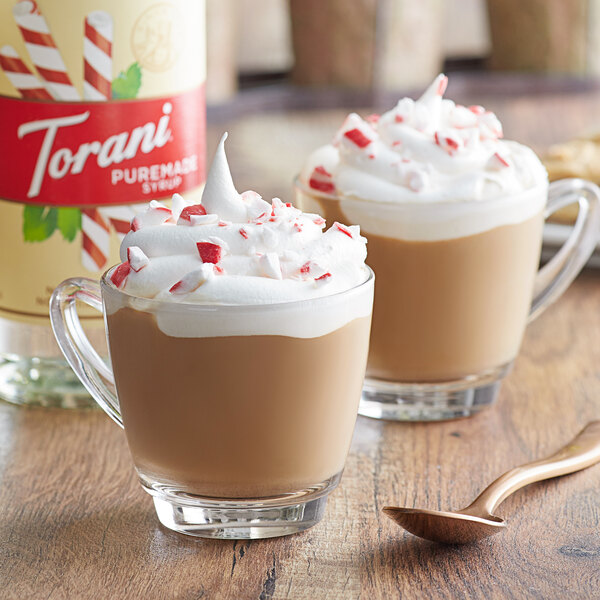 Torani 750 mL Puremade Peppermint Flavoring Syrup Main Image 2