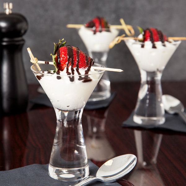Anchor Hocking 90064 Perfect Portions 2.5 oz. Martini / Dessert Taster Glass - 36/Case