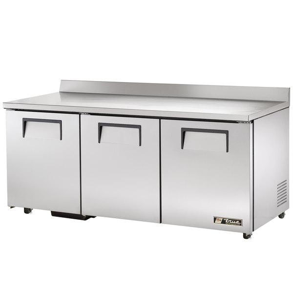 True TWT-72-ADA Refrigerator Three Door Work Top Refrigerator ADA Compliant