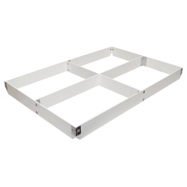 "MFG Tray 176111-1537 4-Section Full Size Fiberglass Pan Extender - 2"" High"