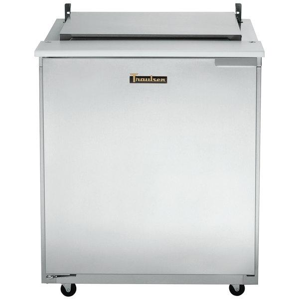 "Traulsen UST276-L 27"" 1 Left Hinged Door Refrigerated Sandwich Prep Table"