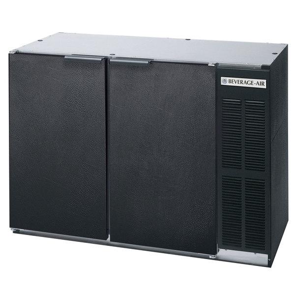 "Beverage AirBB48Y-1-B-WINE 48"" Black Solid Door Narrow Back Bar Wine Refrigerator"