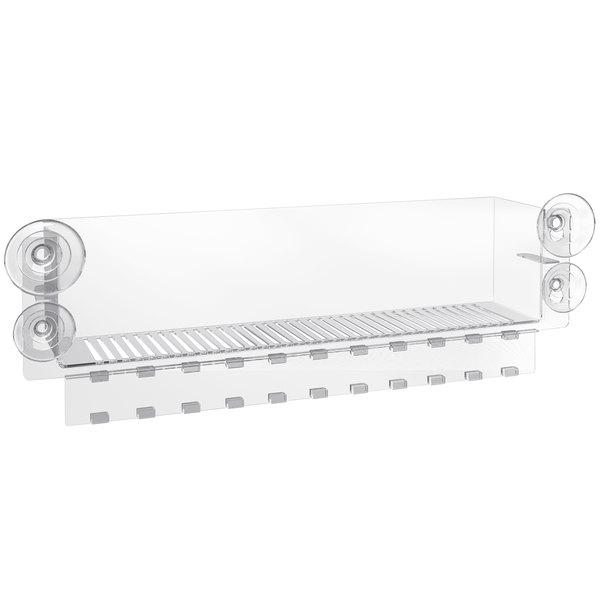 """Avantco 3"""" Large Cooler Door Merchandiser / Suction Cup Display Main Image 1"""