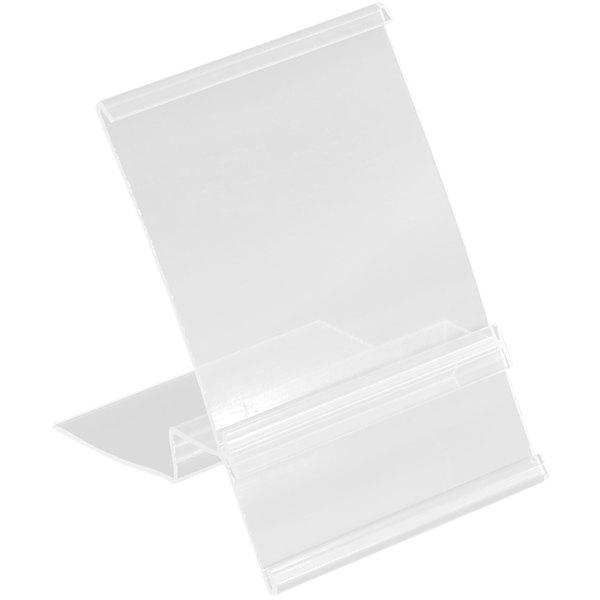 """3"""" x 4 1/2"""" Clear Shelf Talker / Sign Holder Main Image 1"""