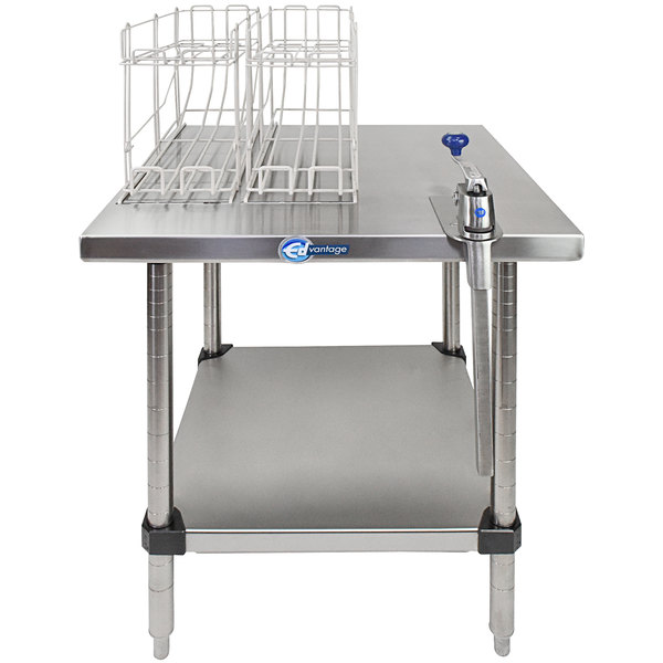 Edlund EDCS-11F Stationary Can Opening Station with S-11 Heavy-Duty Manual Can Opener Main Image 1