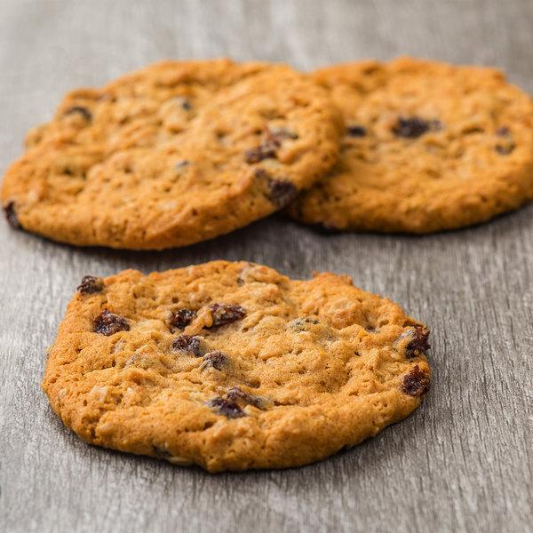Rich's Jacqueline 1.5 oz. Preformed Vegan Oatmeal Raisin Cookie Dough - 210/Case Main Image 3