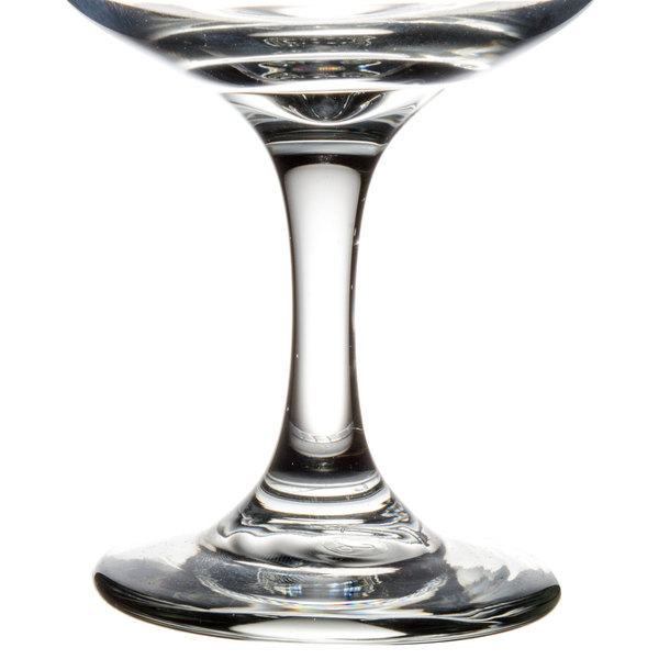 Libbey 3777 embassy 4 5 oz champagne glass 36 case - Wine glasses with thick stems ...