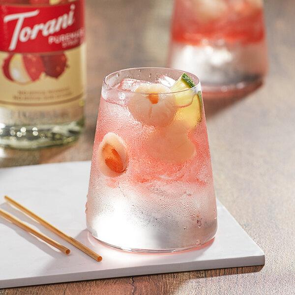 Torani 750 mL Puremade Lychee Flavoring Syrup Main Image 2