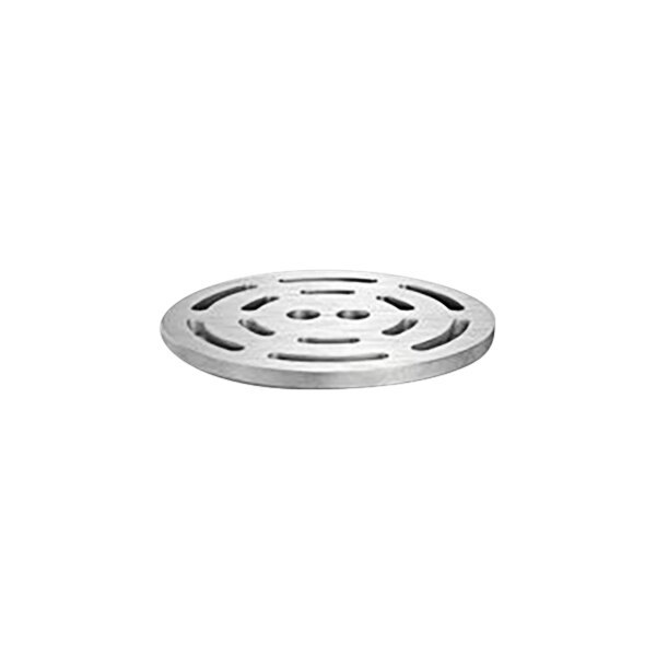 """Zurn P1800-H5-GRATE-USA 10 1/8"""" Square Stainless Steel Slotted Grate for Z1800 Floor Drains Main Image 1"""