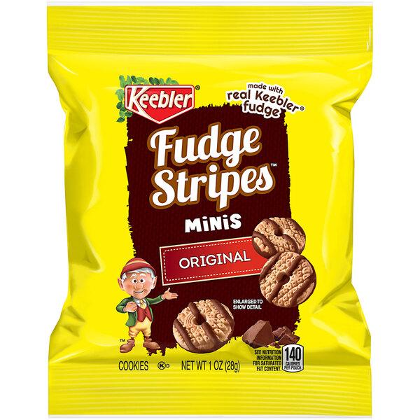 Keebler 2 oz. Mini Fudge Stripes™ Snack Pack - 60/Case Main Image 1