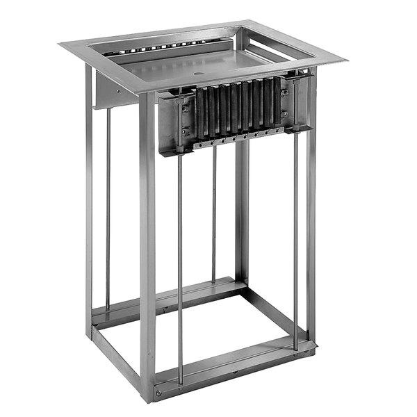 "Delfield LT-1418 Drop In Single Tray Dispenser for 14"" x 18"" Food Trays"