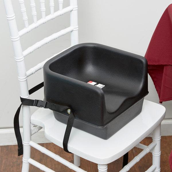Cambro 100bcs110 Black Plastic Booster Seat Single Seat
