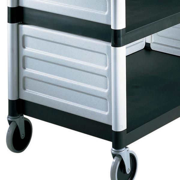 Cambro BC340KDP480 Speckled Gray Single Shelf Panel Set Main Image 1