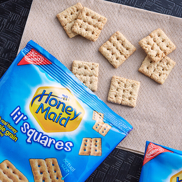 Nabisco Honey Maid 1.06 oz. Lil Squares Snack Pack - 72/Case Main Image 2