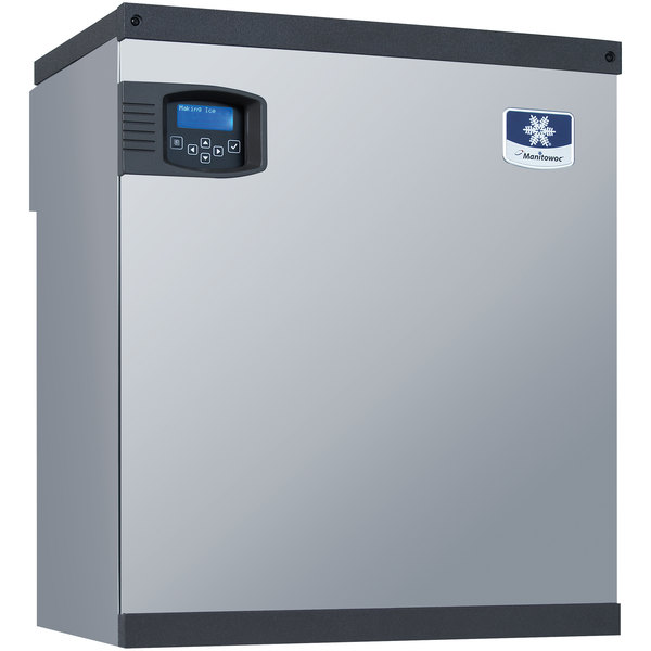 """Manitowoc IB-0894YC Indigo Series QuietQube 22"""" Remote Condenser Half Size Cube Ice Machine for Beverage Dispensers - 825 lb."""