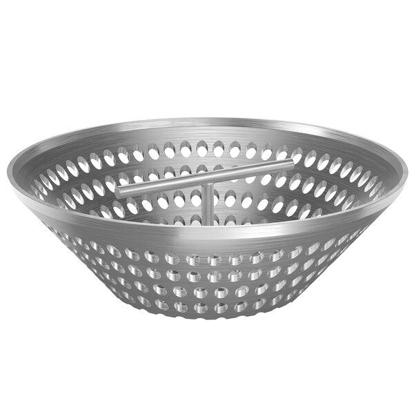 "Zurn P1800-Y-USA 12"" Stainless Steel Sediment Bucket for Z1800 Floor Drains Main Image 1"