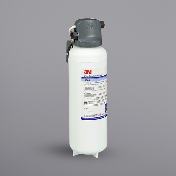 3M Water Filtration Products DWS160-L High Flow Series Water Filtration System - 0.2 Micron Rating and 2.5 GPM Main Image 1