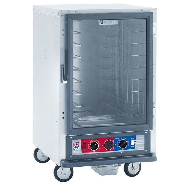 Metro C515-CFC-L C5 1 Series Non-Insulated Heated Proofing and Holding Cabinet - Clear Door Main Image 1