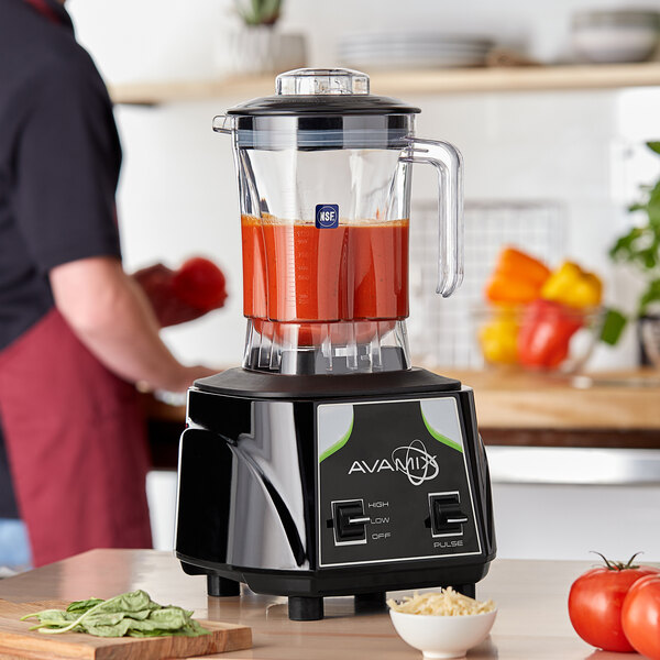 Avamix BX1000T 3 1/2 hp Commercial Blender with Toggle Control and 48 oz. Polycarbonate Container Main Image 4