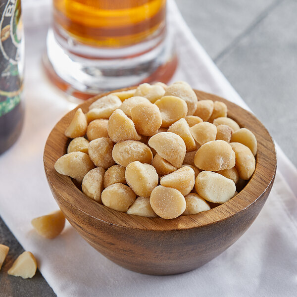 15 lb. Dry Roasted Salted Macadamia Nuts Main Image 2