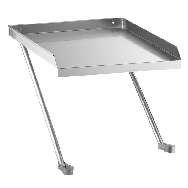 "Regency 24"" x 24"" 18-Gauge Stainless Steel Detachable Drainboard Main Image 1"